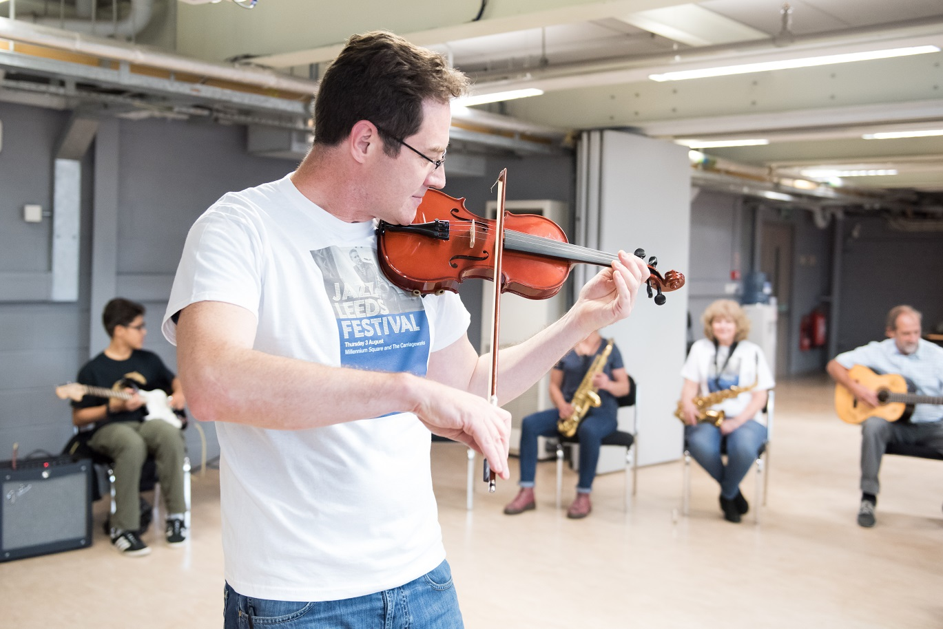 Monday Jazz Workshop in the Carriageworks
