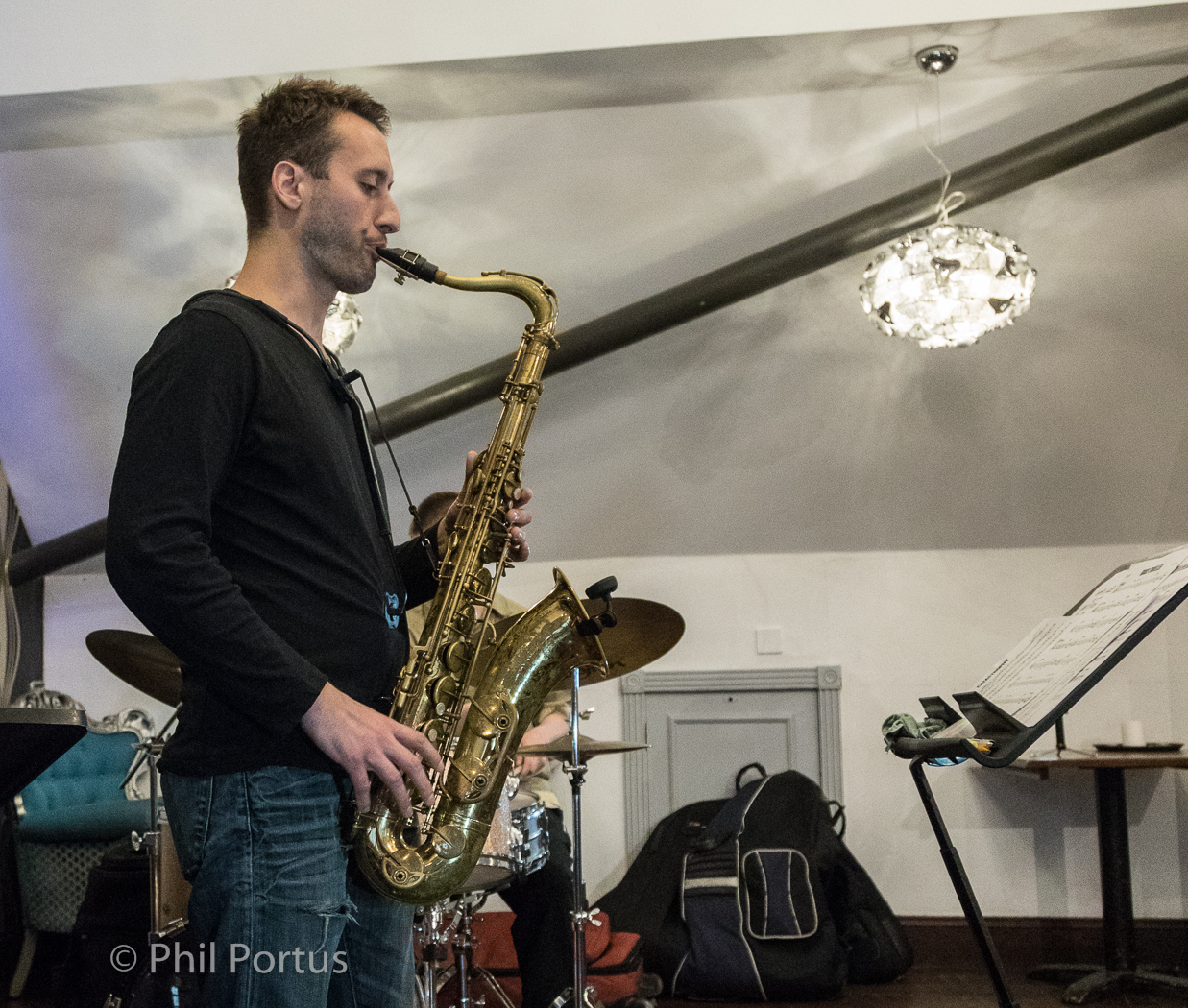Jeff Guntren with Jami Sheriff trio @Seven Arts -9 Dec 1.30pm
