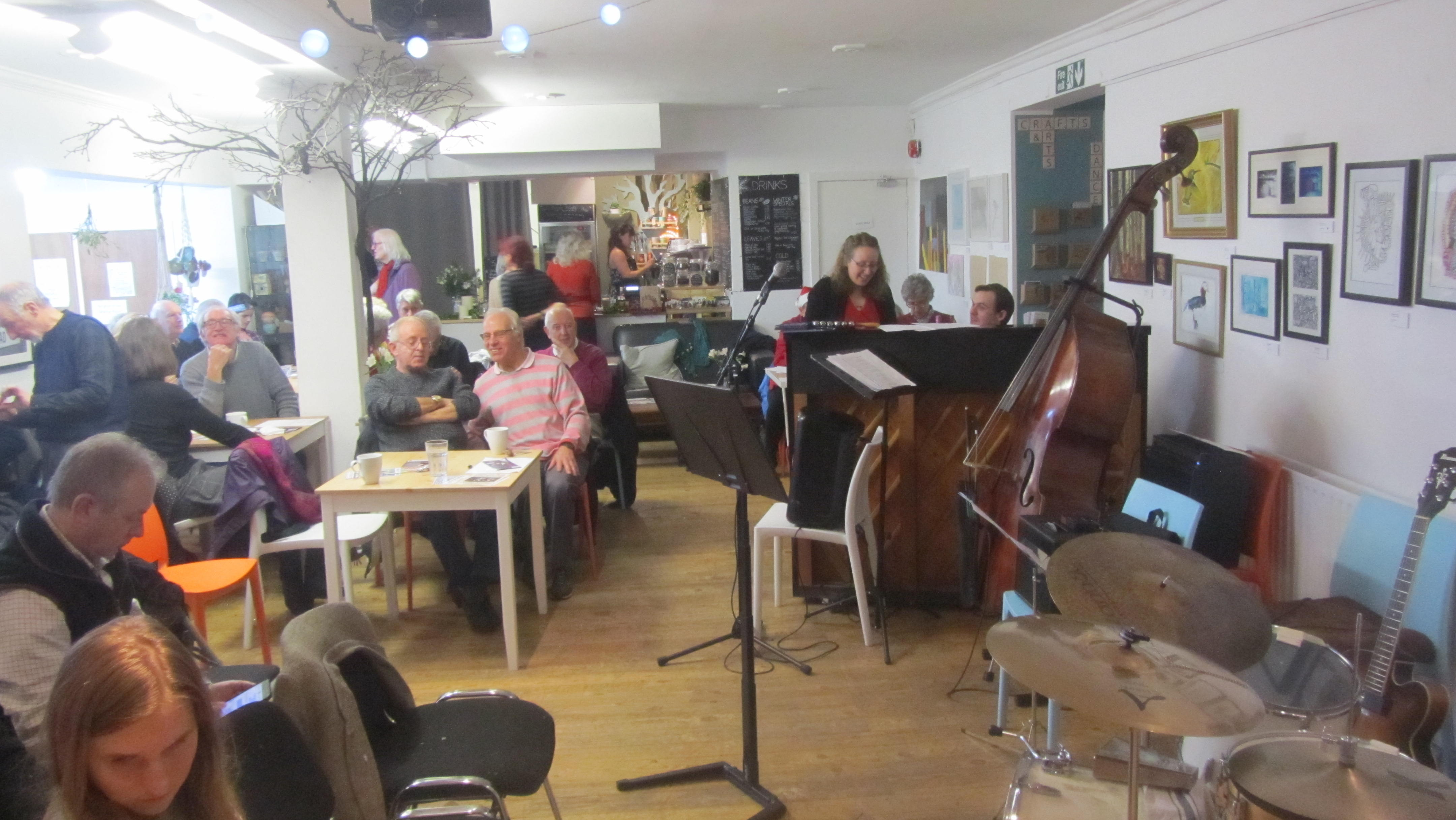 Spring Jazz Cafe and Jam session @Inkwell  Sun 31 Mar 1.30-4pm