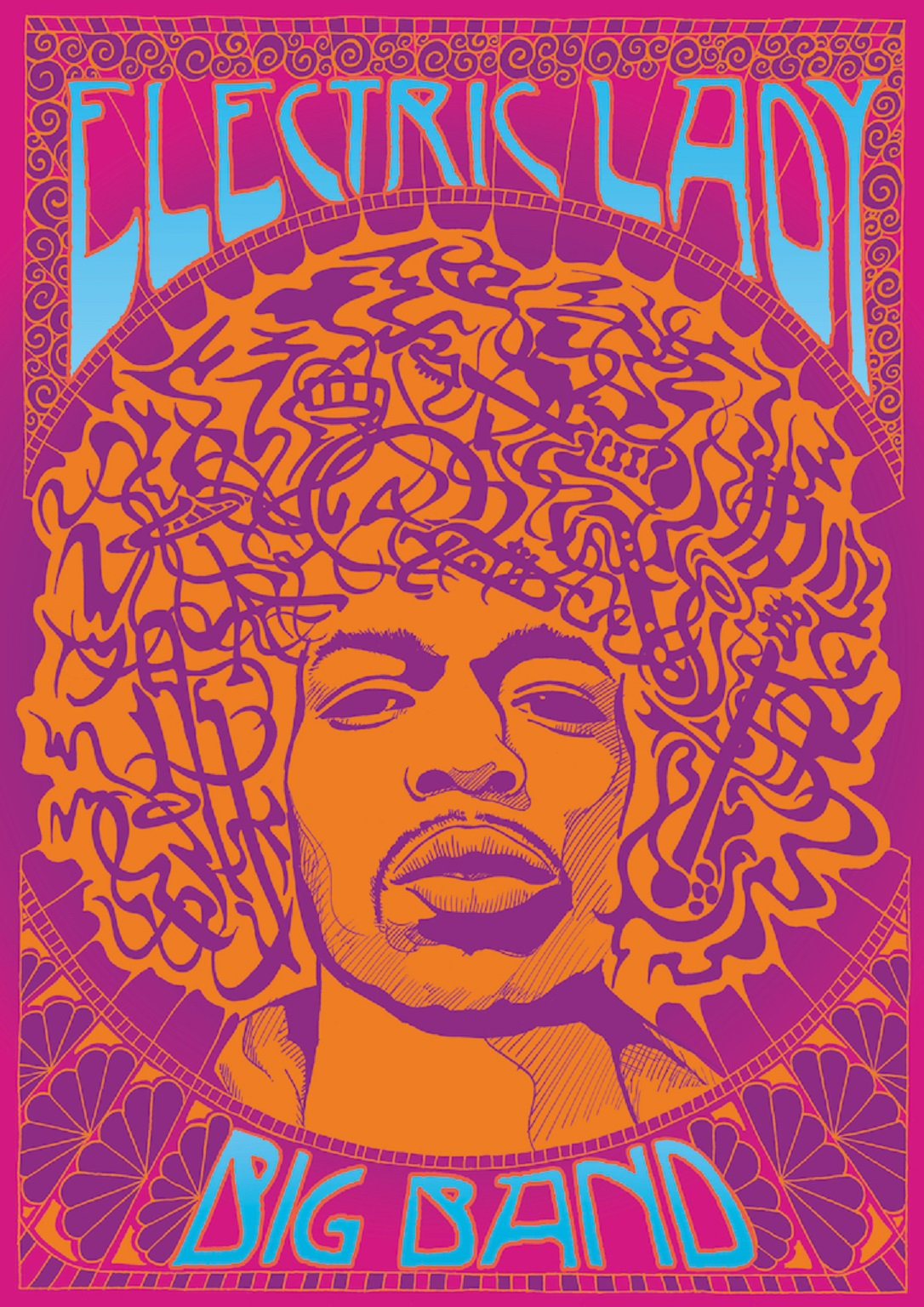 Leeds Jazz Festival event: Electric Lady Big Band '50 Years of Hendrix's Masterpiece'