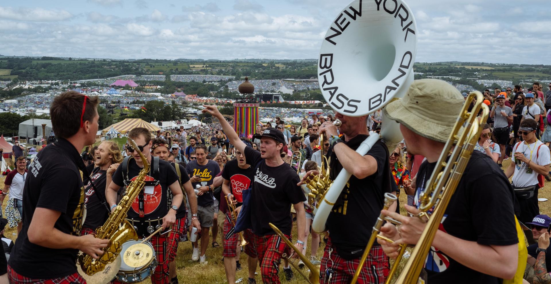 Leeds Jazz Festival event: New York Brass Band