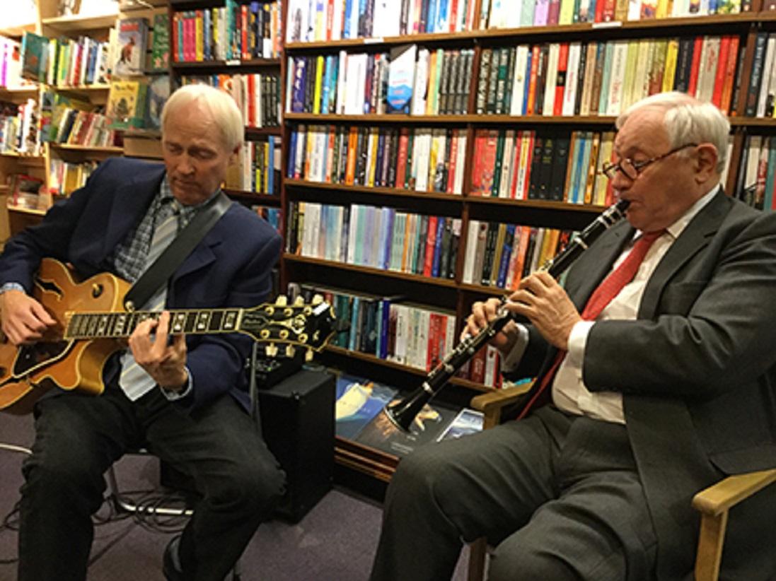 """Leeds Jazz Festival fringe – """"Odd Socks – Jazz and Quite Funny Poems"""" – John Brown and James Birkett"""