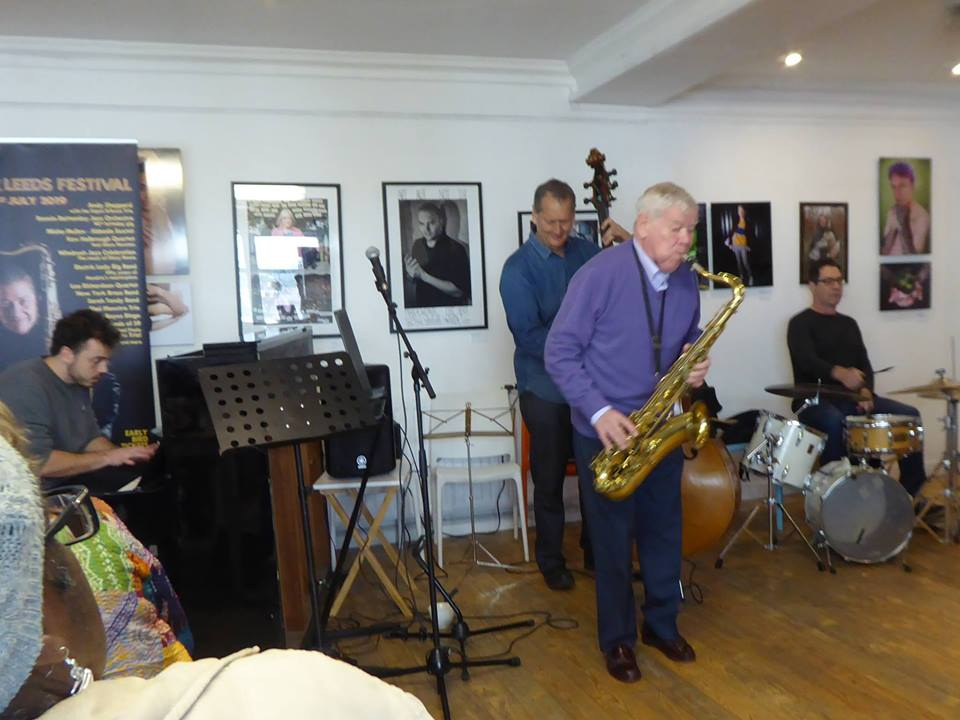 Rush Hour Jazz -Mike Cox at Seven Arts Leeds Wed 15 May